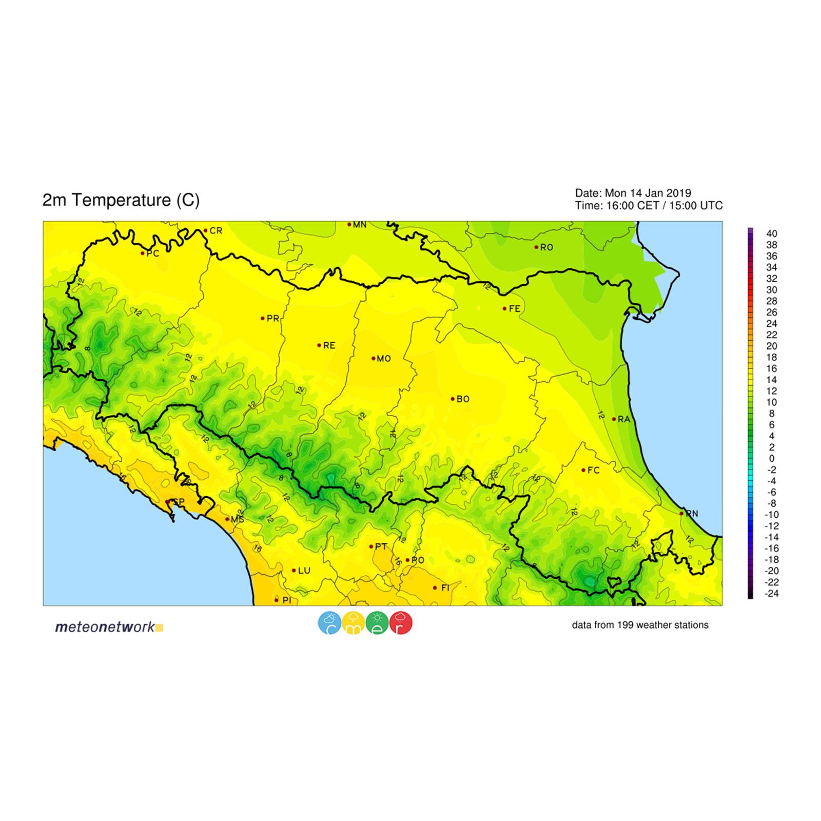 Mappe Interpolate